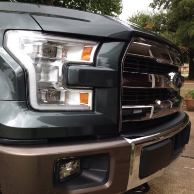 Comfort, Class, and a Good Work Ethic: Meet the 2015 Ford F-150