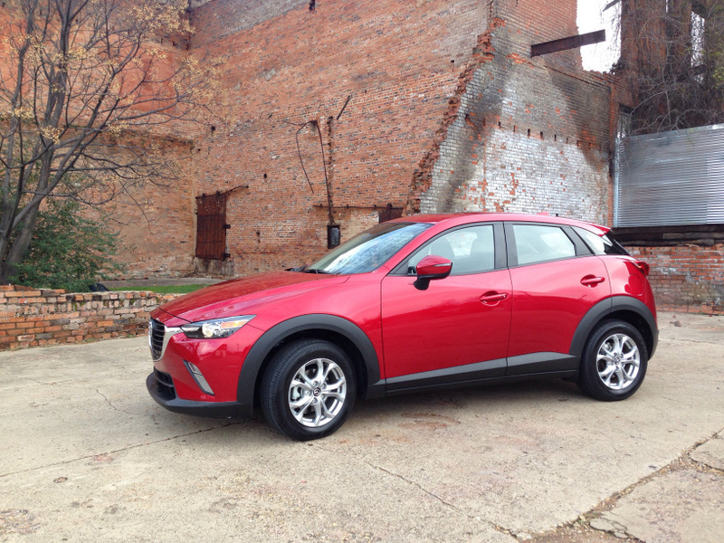 Zoom Zoom in a Bright Red 2016 Mazda CX-3