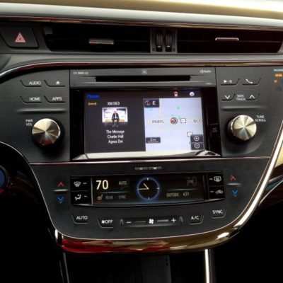 Feeling Right at Home in the 2015 Toyota Avalon