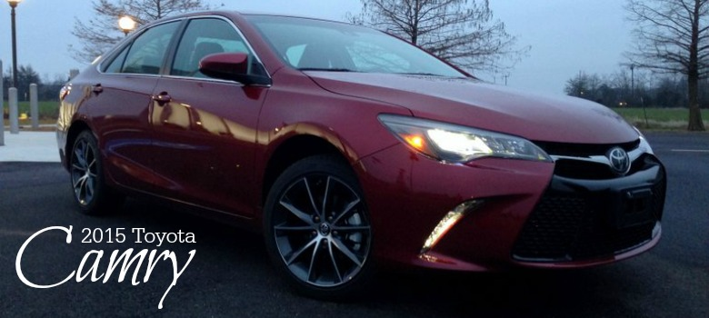 The 2015 Toyota Camry Gets a Sporty Makeover