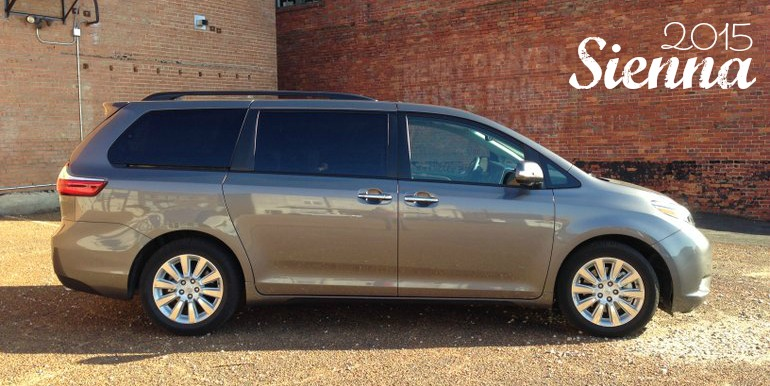 I Might Be OK with a Minivan… if it's the 2015 Toyota Sienna
