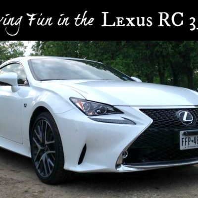 Feeling Fancy? You Need a 2015 Lexus RC 350-f