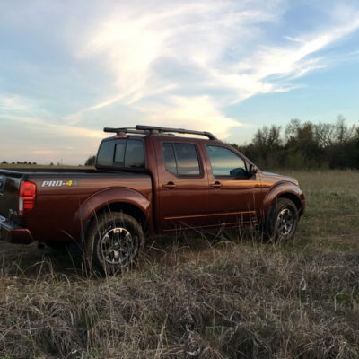 Off-Road Exploring in the 2016 Nissan Frontier PRO-4X