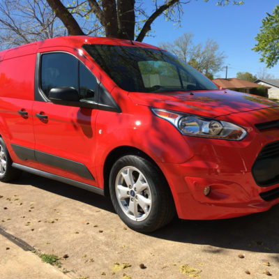 Wish I had this 2016 Ford Transit Connect When I Was Making Deliveries!