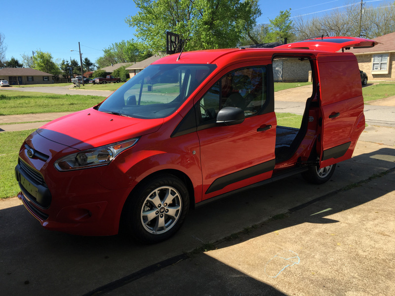 2016 Ford Transit Connect Cargo Van Review