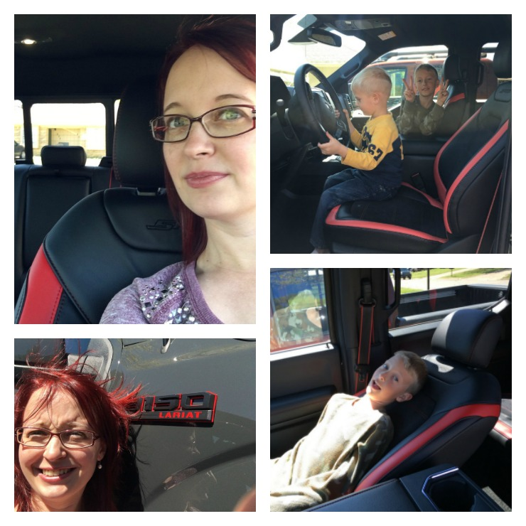 Fun in the 2016 F-150 Lariat