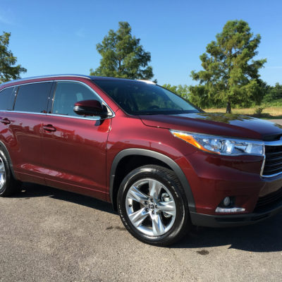 Dreaming of the 2016 Toyota Highlander Limited