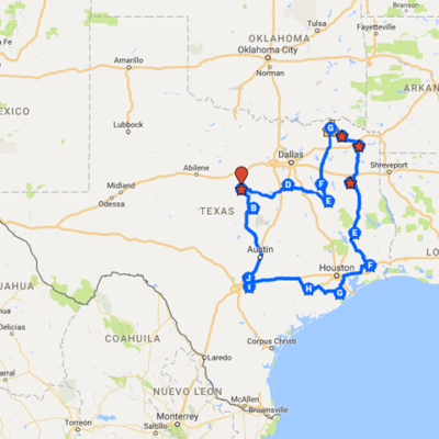 International Trip Around Texas: Where Should We Go?