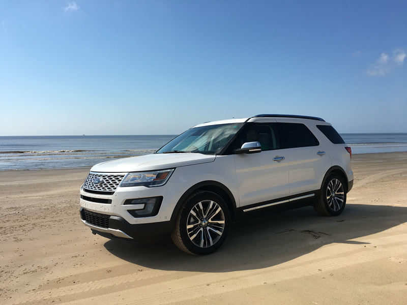 2016 Ford Explorer Platinum – Your Road Trip Chariot