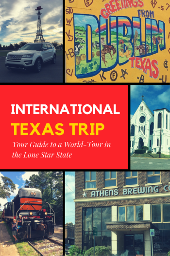 Internationally Named Texas Cities and Towns Roadtrip