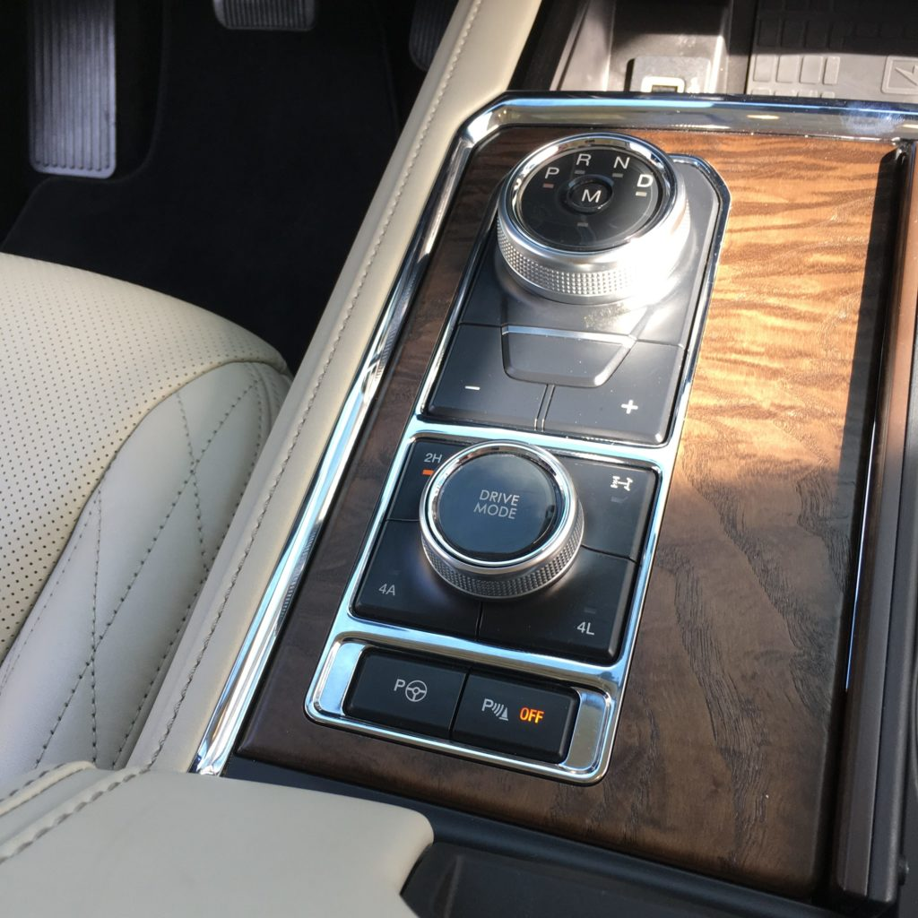2018 Ford Expedition Dial Shift