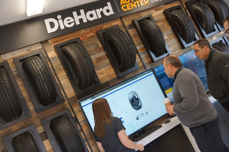 DieHard Auto Center Digital Tire Journey