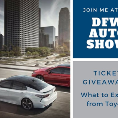DFW Auto Show Features the All New 2018 Toyota Camry and 2018 Toyota C-HR