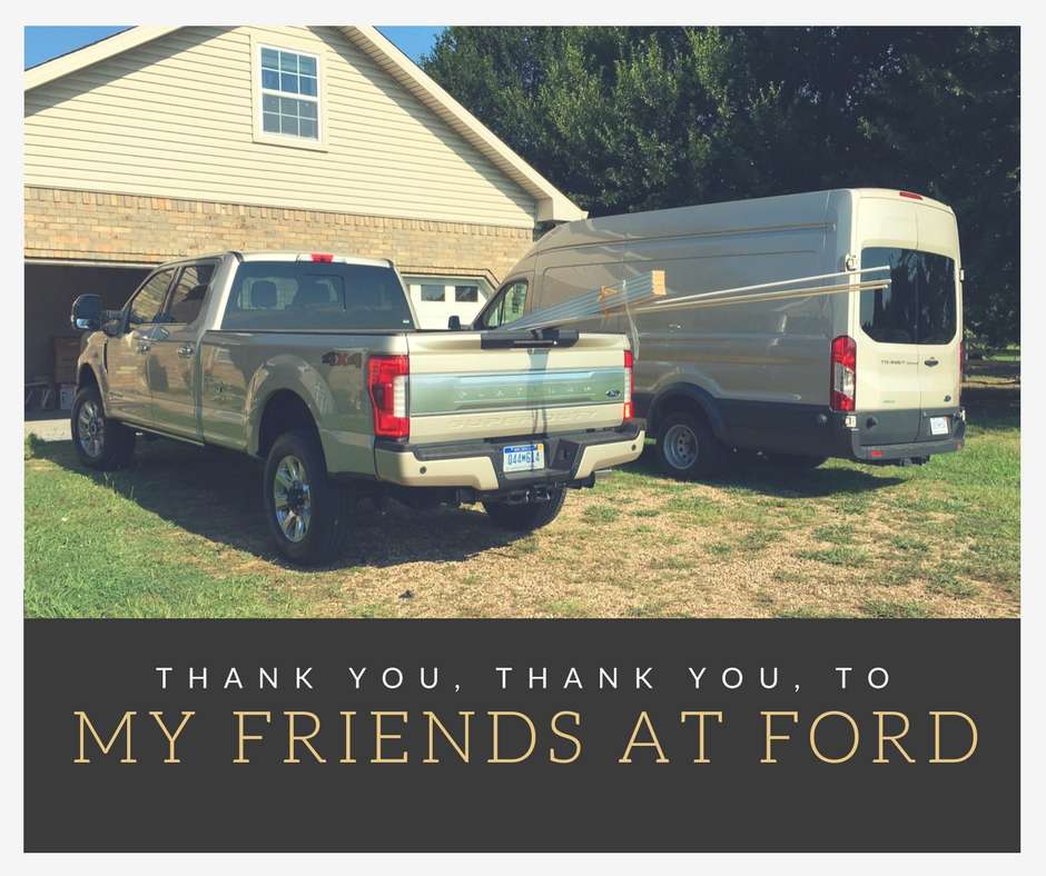 Moving with Ford. Transit and Super Duty to the Rescue!