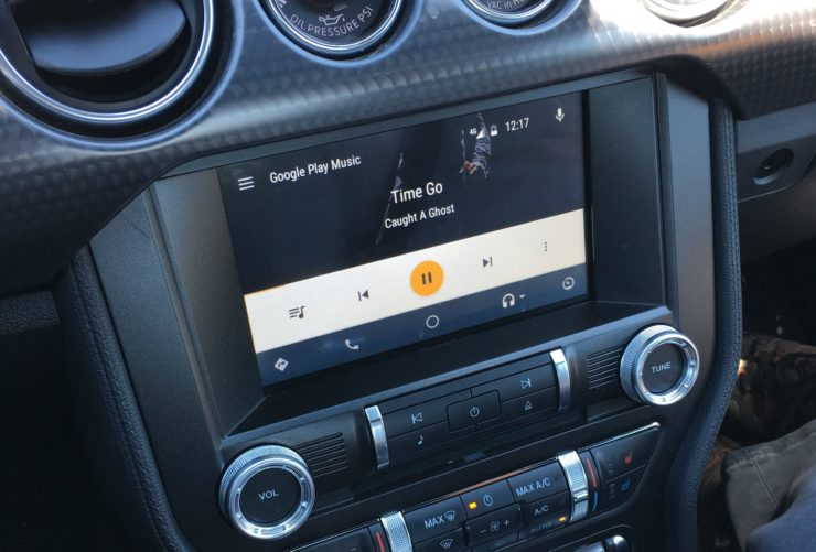 Android Auto in the Ford Mustang GT