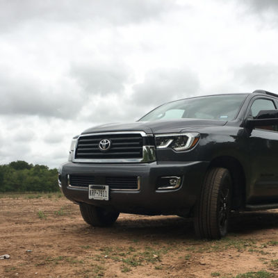The 2018 Toyota Sequoia Sport TRD is Ready for Anything