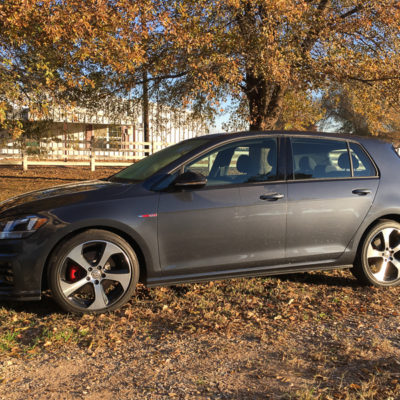 Yes, I finally learned to drive a manual. Thanks, Golf GTI for a Fun Week!