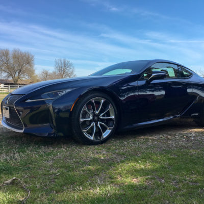 Feeling Like a Movie Star in the 2019 Lexus LC 500h