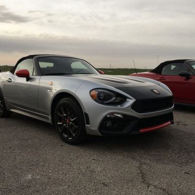Driving the 2019 Fiat Abarth 124 Spider on the Racetrack is a Thrill