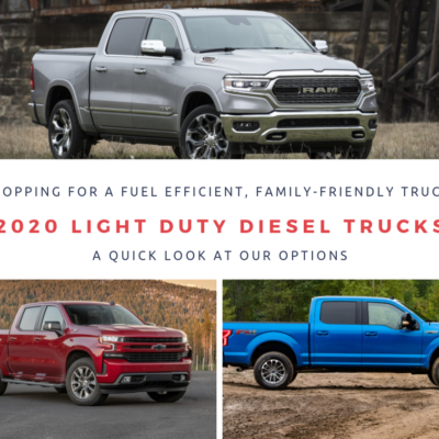 2020 Light Duty Diesel Trucks: Looking at My Options