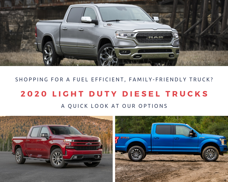 2020 Light Duty Diesel Trucks Comparison