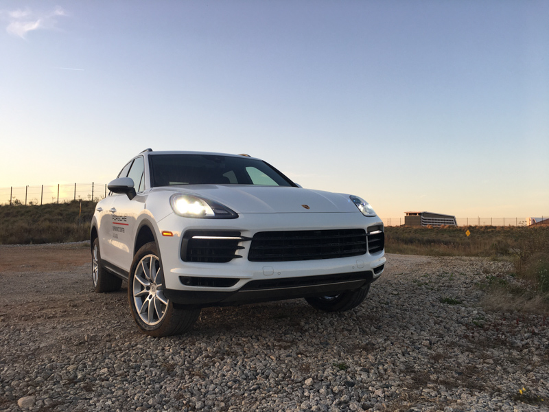 Porsche Cayenne ready to off-road